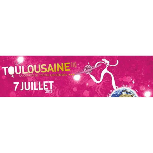 Echauffement Zumba pour l'édition 2013 de La Toulousaine
