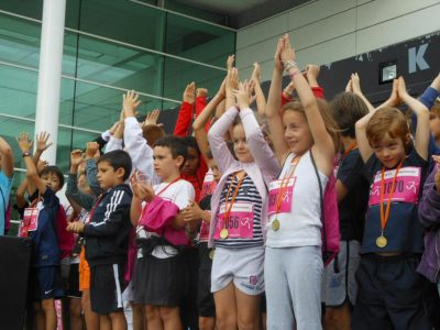 Echauffement Zumba Kids La Bordelaise 2012