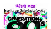 Zumba flash mob Génération 90