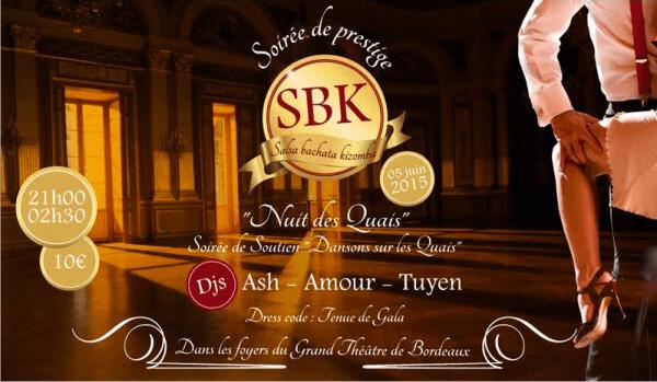 Soirée Prestige SBK au Grand Théâtre de Bordeaux