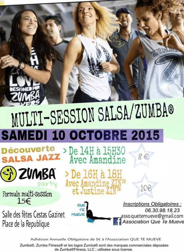 Initiation Salsa Jazz et Zumba Party