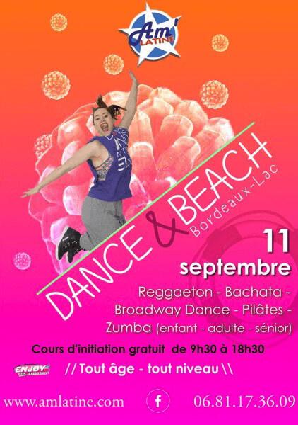 Journée Dance & Beach à la plage de Bordeaux Lac