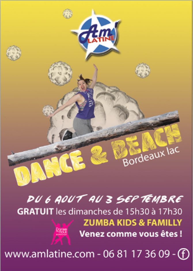 Dance & Beach – Danser sur la plage à Bordeaux, c'est possible !