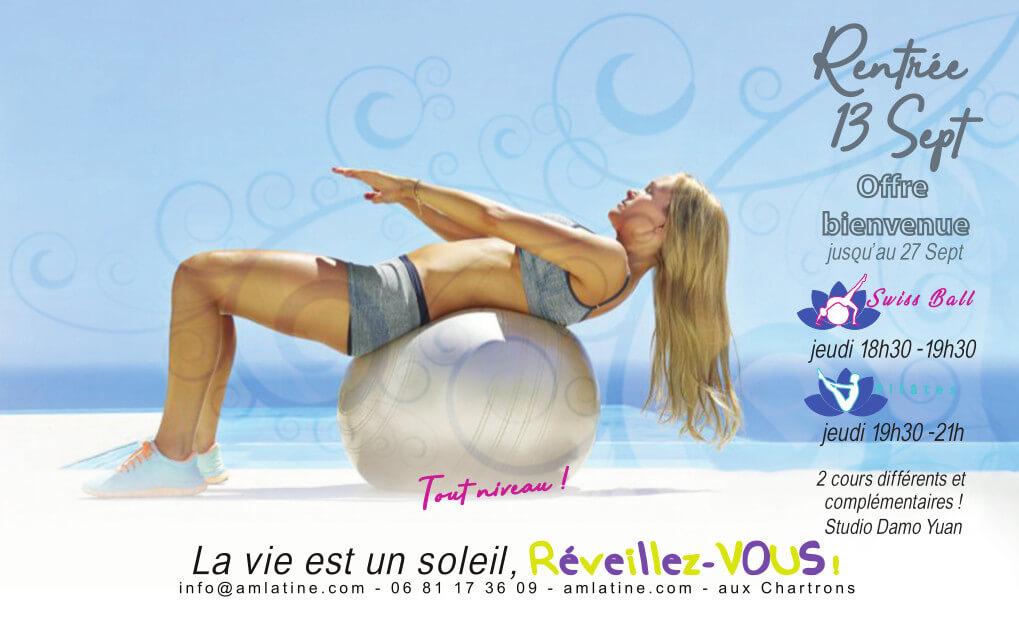 Rentrée 2018 Swiss Ball et Pilates