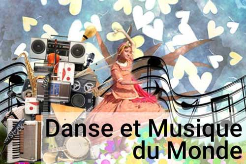 Danse et Musique du Monde enfants Lormont