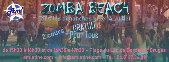 Dance & Beach 2020 – plage de Bordeaux-Lac
